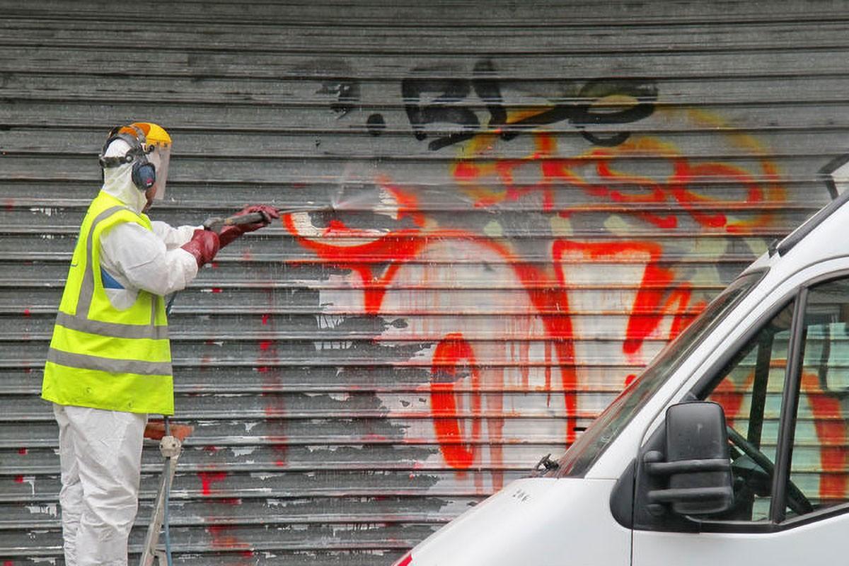 arracoclean limpieza empresas negocios, limpieza graffitis