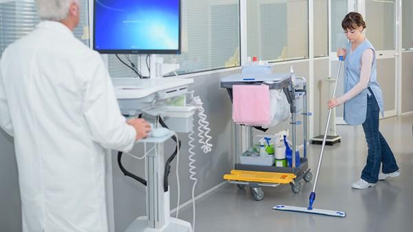Limpieza y desinfección profesional en centros médicos y sanitarios